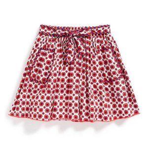 Little Marc Jacobs Floral-Print Woven Skirt